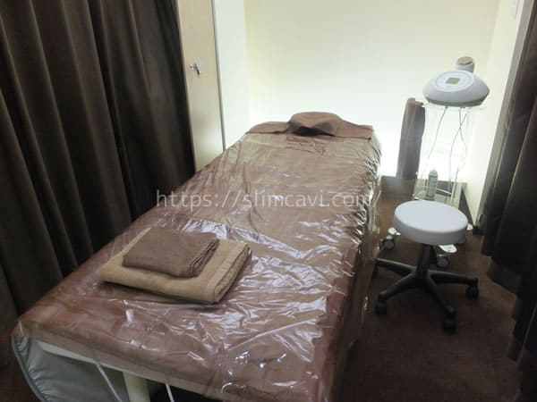 キレイサローネ施術室の画像